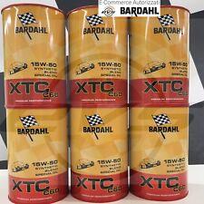 6 Litri BARDAHL XTC C60 15W50 Olio Motore Auto Sportive Polar Plus Fullerene