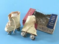 Vintage Accessory Madame Alexander Sonja Henie Shirley Temple Doll Roller Skates