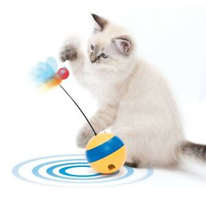 Catit Play Spinning Bee Interactive Cat Toy Treat Dispenser with Laser
