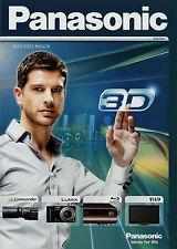 Catalogo Panasonic Audio Video rivista 2010 2011 TV BLU RAY Soundbar DVD
