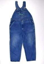 Vtg 90s Key Imperial Denim Overalls Bib Work Pants Jeans Mens 43 x 29 Carpenter