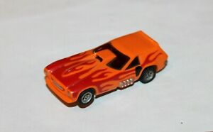 Aurora A/FX - Vega Van Funny car - Magna-Traction - Orange - HO Slot car