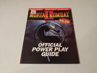 RARE Mortal Kombat 2 Official Power Play Strategy Guide by Prima games