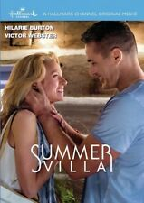 Summer Villa 2016 (Hallmark DVD) Hilarie Burton, Victor Webster - New!