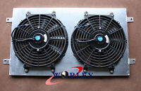 Aluminum Radiator Shroud +Thermo Fan for HQ HJ HX HZ 253 & 308 V8 Holden engine