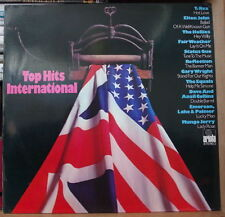 TOP HITS INTERNATIONAL COMPIL' POP ROCK 70's GERMAN PRESS LP ARIOLA