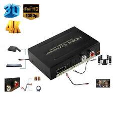 1080P HDMI to SPDIF Optical 4K RCA Analog L/R Audio Extractor Converter Splitter