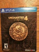 PLAYSTATION 4 UNCHARTED 4 A THIEFS END SPECIAL EDITION BRAND NEW