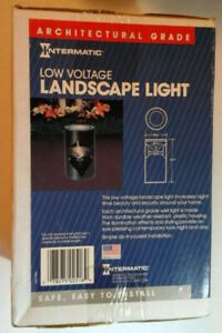NEW Intermatic ARCHITECTURAL GRADE Well Style Fixture Landscape Light  CL111B