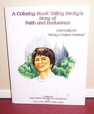 A Coloring Book Telling Becky's Story of Faith and Endurance 2015 LDS Mormon PB