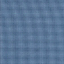 Half Metre Quilting Fabric ~ Long Live Vintage ~ Tiny Check ~ Blue