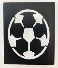 5 ⚽️ Football stencils top up ur glitter tattoo kit facepainting