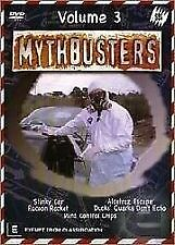 MYTHBUSTERS - VOLUME 3 - BRAND NEW & SEALED R4 DVD (ADAM SAVAGE, JAMIE HYNEMAN)