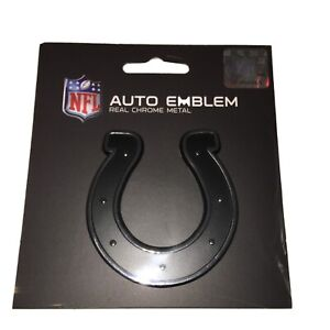 New NFL Indianapolis Colts Auto Car Truck Heavy Duty Real Chrome Metal Emblem