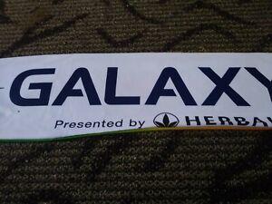 LA GALAXY Soccer 6 foot muffler garment sponsor herbalife see details