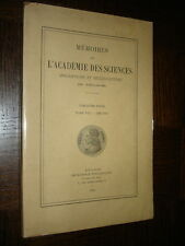 MEMOIRES DE L'ACADEMIE DES SCIENCES DE TOULOUSE - Tome VII - 1949-1956