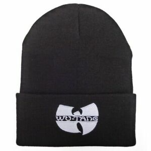 WU TANG CLAN Winter Warm Knitted Beanies For Unisex Outdoor Hip Hop Fashion Hats