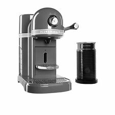 Nespresso 5kes0504ams KitchenAid Capsule Coffee Machine Medallion Silver