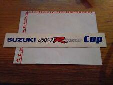 ADESIVO VINTAGE STICKER KLEBER ROVINATO SUZUKI GSXR 750 CUP