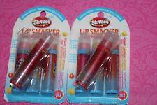 New 4 Pcs Pack Lip Smacker Skittles tropical Lip Gloss #030  LOT OF 2