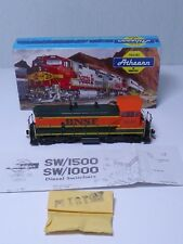 Athearn HO Gauge BNSF Locomotive SW/1500 Diesel Switcher R/N 3440 Boxed Ref 3943