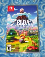 Links Awakening The Legend of Zelda Nintendo Switch Video Game with Case 2019