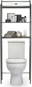 Bathroom Storage Shelf Over Toilet Space Saver Freestanding for Bath Essentials