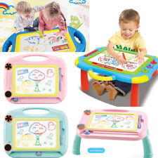 Magnetic Drawing Board Kids Writing Sketch Pad Graffiti Painting Erasable Toy