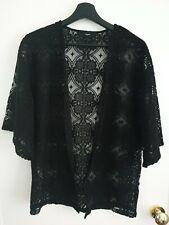 Size 12-14 Black Next Kimono Style Cover Up