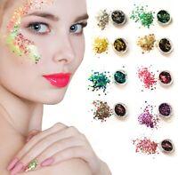 Chunky Glitter Mixed Face Body Pot Nail Eye Shadow Festivals Tattoo Cosmetic