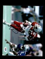Tim Brown PSA DNA Coa Hand Signed 8x10 Raiders Pro Bowl Photo Autograph