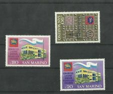 San Marino 1971 Congress union philatelic press Italian  MNH