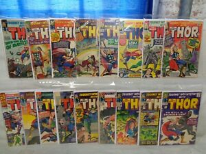 Journey Into Mystery 106-125 (miss.4bks) + Annual 1 SET Thor! 1964-1966 (s 11996