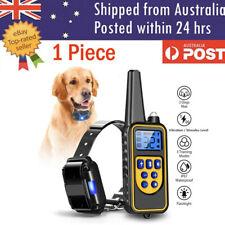 Electric Pet Dog Training E-Collar Anti Bark Obedience Remote Control Collar AU