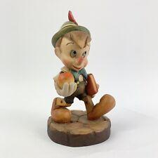 Anri Walt Disney Pinocchio Off To School Limited Edition Wood Carved Figurine