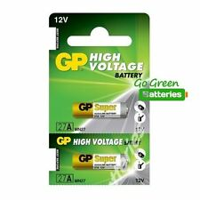 2 x GP A27 MN27 12V Alkaline Batteries 27 27A GP27A V27A E27A EL812 Garage Gate