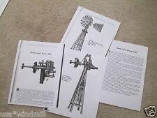 Dandy Steel Power Windmill Diagrams & Trade Description