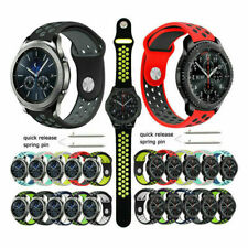 For Samsung Galaxy Watch 46mm Replacement Silicone Sports Band Strap