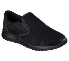 skechers high tops mens. 52730 black skechers shoe men memory foam comfort slipon casual mesh sneaker new high tops mens