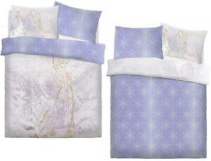 2 in 1 Frozen Duvet Cover Set Double Rose Gold Disney Reversible Girls Bedding
