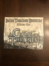 A Game of Thrones Iron Throne Edition Starter Set Box NEW 5 Game Decks TCG CCG