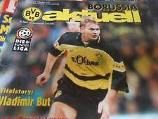 Borussia aktuell  BVB-Stadionzeitung - BVB09 - Kaiserslautern Heft 7/  31.10.97
