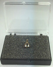 Masonic Trowel in the Triangle Gold Plated Enamel Lapel Pin Badge In Gift Box