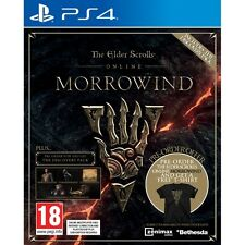 The Elder Scrolls Online Morrowind Ps4 Game SAMEDAY Ship