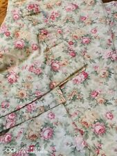 More details for vintage rose curtains tape top w63