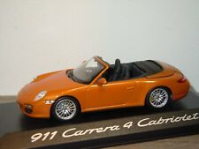 Porsche 911 997 Carrera 4 Cabriolet - Minichamps 1:43 in Box *34710