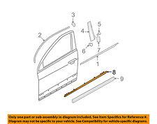 VW VOLKSWAGEN OEM 06-10 Passat Front Door-Side Molding Left 3C0853515C2ZZ