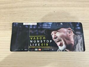 Vasco Rossi - Non Stop Live 019 Tour - Biglietto Ticket Concerto 2019