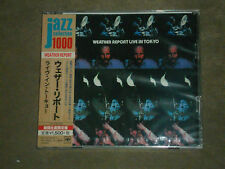 Weather Report Live In Tokyo - Japan CD sealed