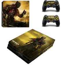 Dark souls III PS4 Pro Skin Sticker Sony Playtation 4 Pro console +2 controllers